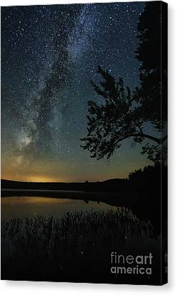 Mt Chocorua Canvas Print - End Of Summer by Scott Thorp