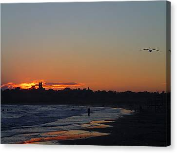 End Of The Island Day. Canvas Print