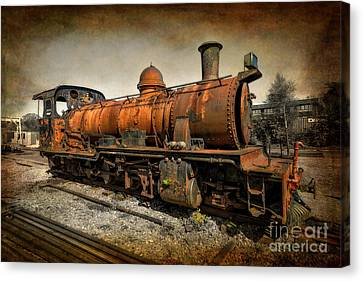 End Of The Line Canvas Print by Adrian Evans
