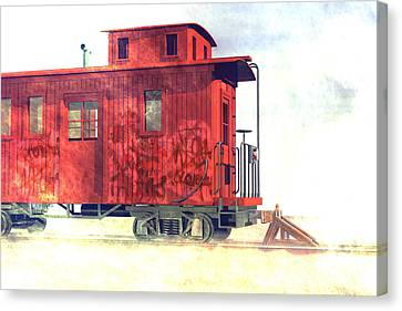 End Of The Line Canvas Print by Carol and Mike Werner