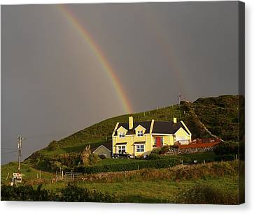 End Of The Rainbow Canvas Print by Mike McGlothlen