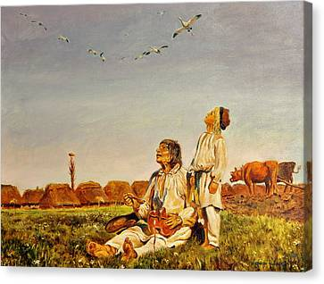 End Of The Summer- The Storks Canvas Print