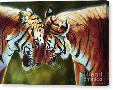 Endangered Moments Canvas Print