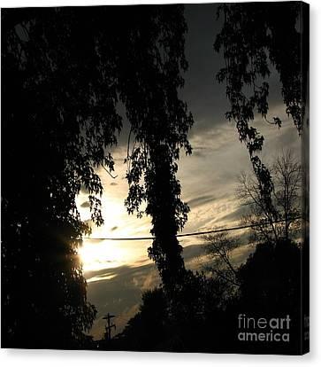 Ending Light Canvas Print