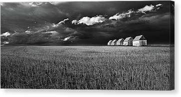 Canvas Print featuring the photograph Endless Sky by John Poon