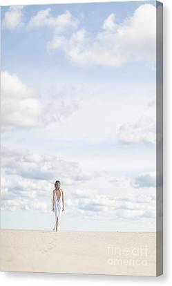 Warm Summer Canvas Print - Endlessly by Evelina Kremsdorf