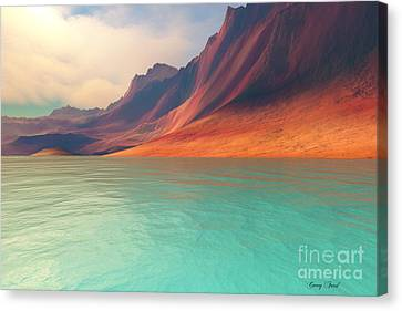 Endurance Canvas Print by Corey Ford