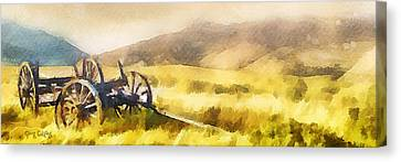 Enduring Courage - Panoramic Canvas Print by Greg Collins