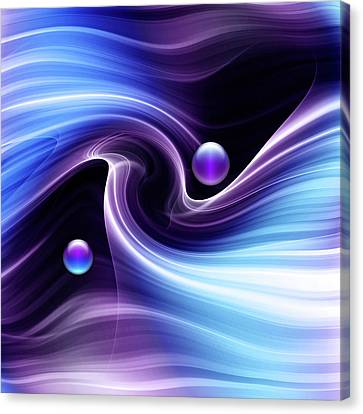 Opposing Forces Canvas Print - Energy by Andy Young