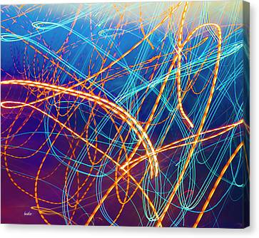 Energy Canvas Print by Betsy C Knapp