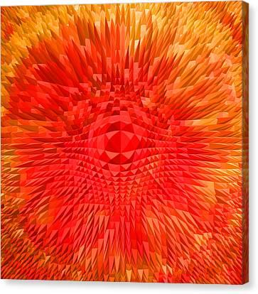 Energy-explosion Canvas Print by Ramon Labusch