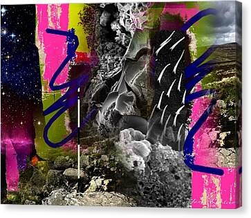 Energy Fields 1 Canvas Print by Janis Kirstein