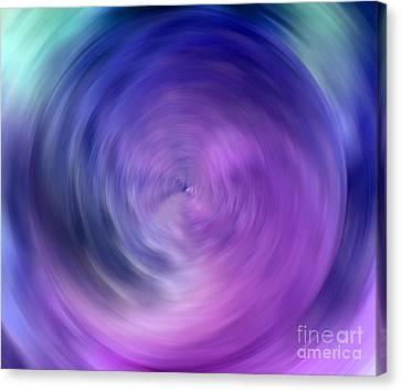 Energy Canvas Print by Krissy Katsimbras