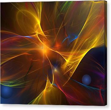 Energy Matrix Canvas Print