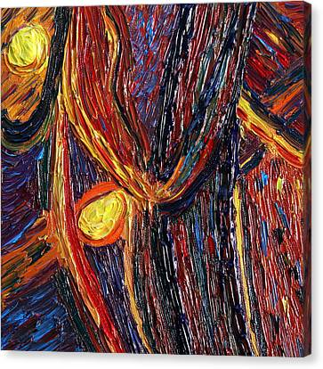 Energy Of Two Canvas Print by Vadim Levin