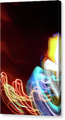 Energy Canvas Print by Tj Evans