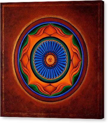 Energy Wheel Canvas Print