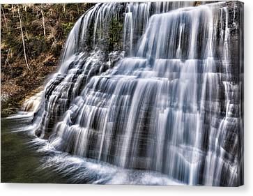 Beautiful Creek Canvas Print - Lower Falls #4 by Stephen Stookey