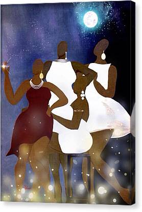 Engagement Party Canvas Print