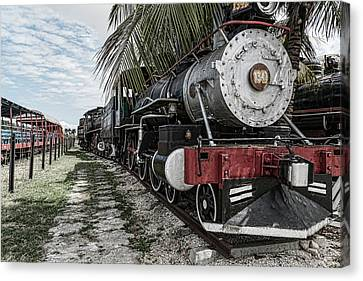 Engine 1342 Parked Canvas Print
