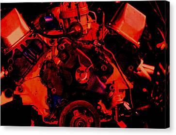 Engine 2 Canvas Print by Lisa Johnston