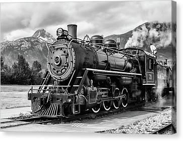 Engine 73 Canvas Print by Dawn Currie
