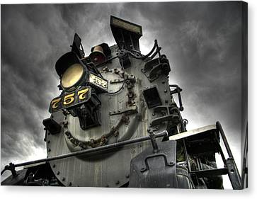 Abandoned Canvas Print - Engine 757 by Scott Wyatt