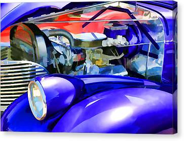 Engine Compartment 11 Canvas Print by Lanjee Chee