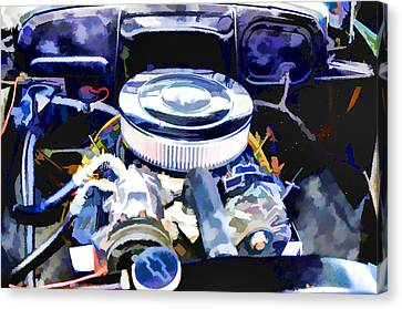 Engine Compartment 2 Canvas Print by Lanjee Chee