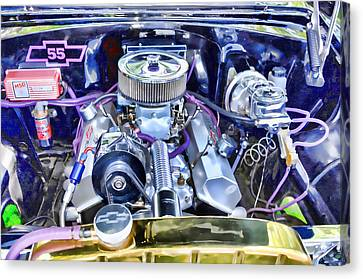 Engine Compartment 3 Canvas Print by Lanjee Chee
