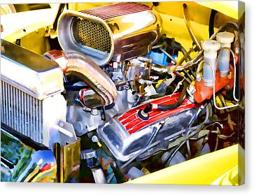 Engine Compartment 5 Canvas Print by Lanjee Chee