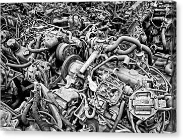 Engine Room Canvas Print