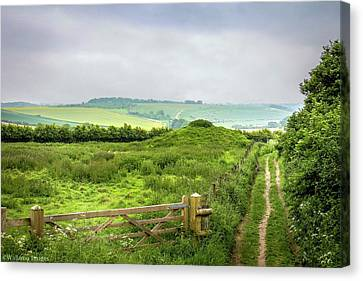 English Country Landscape 2 Canvas Print