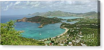 English Harbour Antigua Canvas Print by John Edwards