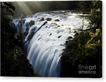 Englishman Falls Canvas Print by Bob Christopher