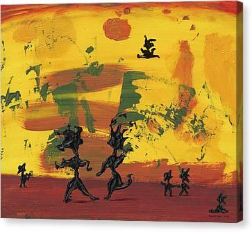 Dance Art Canvas Print - Enjoy Dancing by Manuel Sueess
