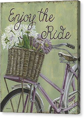 Enjoy The Ride Canvas Print by Debbie DeWitt