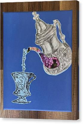 Enjoy Yo Tea Canvas Print