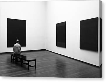 Enjoying Rothko Canvas Print by Art Lionse