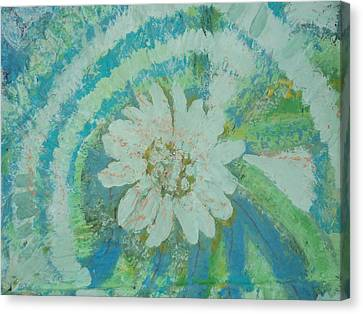 Enlightened Canvas Print by Anne-Elizabeth Whiteway