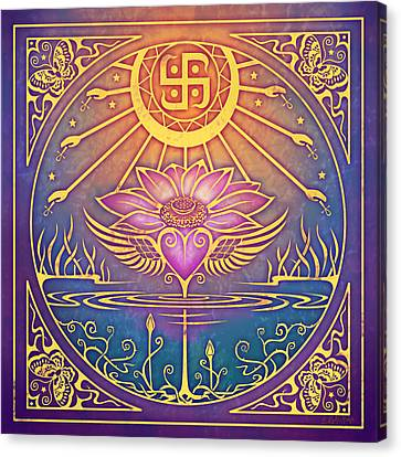 Enlightenment Canvas Print - Enlightenment by Cristina McAllister