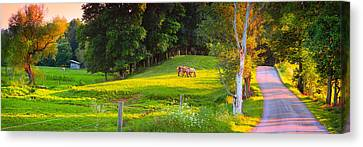 Stormy Weather Canvas Print - Enon Valley  by Emmanuel Panagiotakis