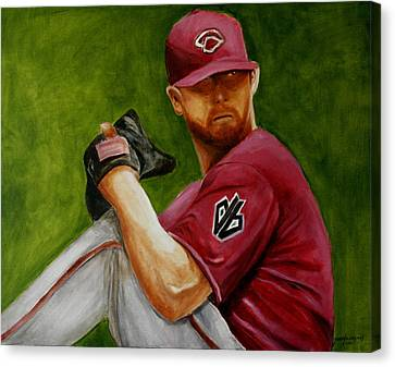 Diamondbacks Canvas Print - Enright Pulse by Jun Jamosmos