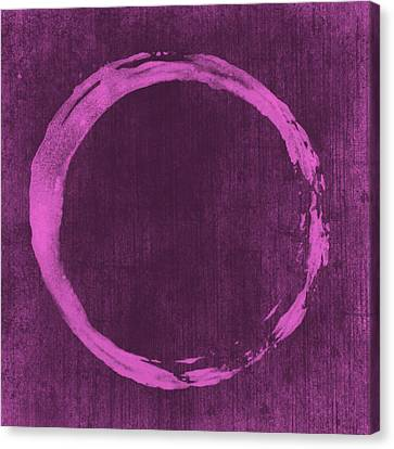 Contemporary Canvas Print - Enso 4 by Julie Niemela