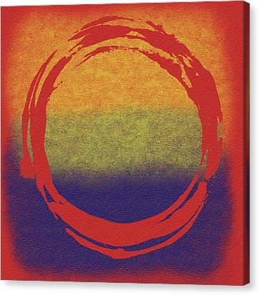 Enso 7 Canvas Print by Julie Niemela