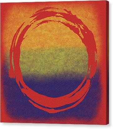 Enso 7 Canvas Print by Julie Niemela