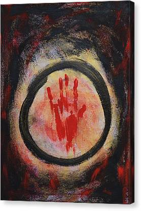 Enso - Confine Canvas Print by Marianna Mills
