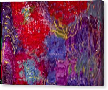 Enter If You Dare Canvas Print by Anne-Elizabeth Whiteway