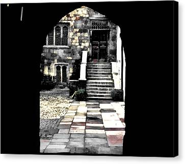 Enter London Canvas Print
