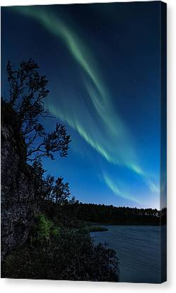 Enter Night Canvas Print by Tor-Ivar Naess